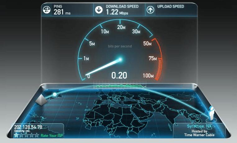 Cách kiểm tra tốc độ mạng Viettel bằng Speedtest.net